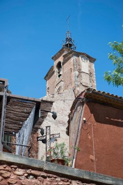 5b_Roussillon clock tower 2