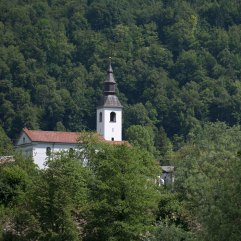 Church near Bovec