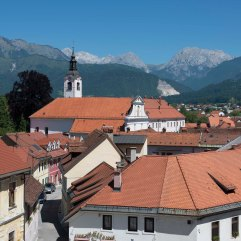 Kamnik from Little Castle