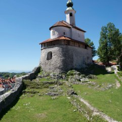 Kamnik Little Castle chapel 3