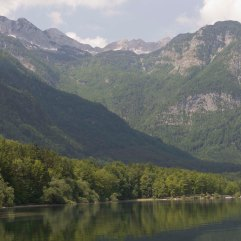 Lake Bohinj west end