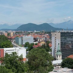 Ljubljana towards mountains 2