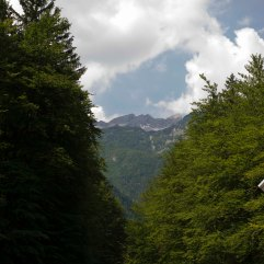 Road to Lake Bohinj