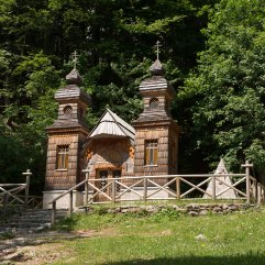 Russian Chapel Vrsic Pass