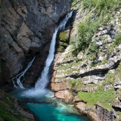 Savica waterfall Lake Bohinj