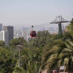 Cerro San Cristobel cable car 2