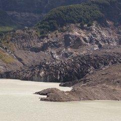 Cerro Tronador Black Glacier