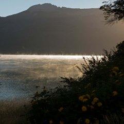 Lake in mist 3