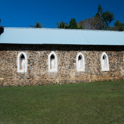 Old church side